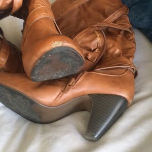 Rue21 Shoes - Women's brown knee-high boots